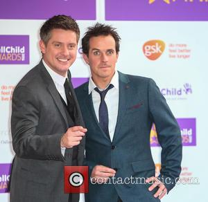Dick and Dom (Richard McCourt & Dominic Wood) attend the 2016 WellChild Awards held at The Dorchester in London -...