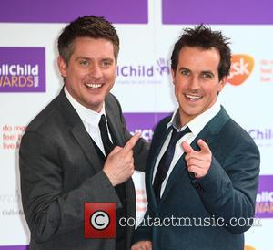 Dick and Dom (Richard McCourt & Dominic Wood)  attend the 2016 WellChild Awards held at The Dorchester in London...
