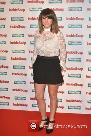 Laura Norton arriving at the Inside Soap Awards held at the Hippodrome Casino, London, United Kingdom - Monday 3rd October...