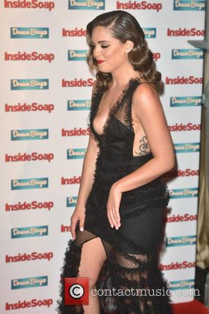 Olympia Valance arriving at the Inside Soap Awards held at the Hippodrome Casino, London, United Kingdom - Monday 3rd October...
