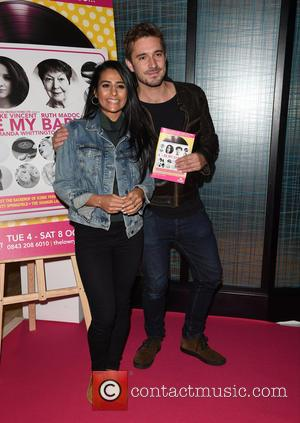 Sair Khan at the opening night of Be My Baby held at Manchester's Lowry Theatre. Many Coronation Street stars headed...