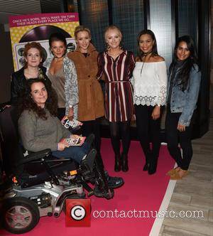 Coronation Street Cast head to the Lowry Theatre to support fellow cast member Brooke Vincent in Be My Baby -...