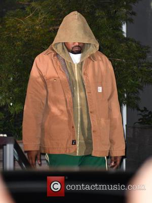 Back To Work: Newly Blonde Kanye West Resurfaces In Nyc