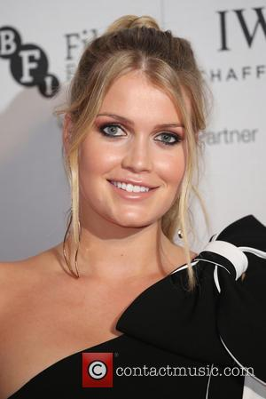 Kitty Spencer on the red carpet at the 2016 IWC Gala in honour of The British Film Institute London, United...
