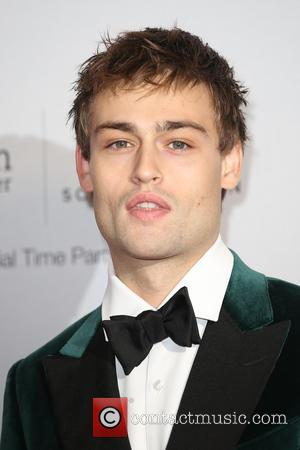 Douglas Booth on the red carpet at the 2016 IWC Gala in honour of The British Film Institute London, United...