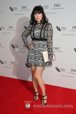 Alice Lowe on the red carpet at the 2016 IWC Gala in honour of The British Film Institute London, United...
