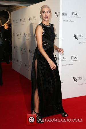 Amber Le Bon on the red carpet at the 2016 IWC Gala in honour of The British Film Institute London,...