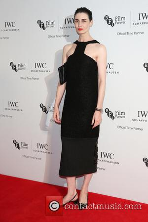Erin O'Connor on the red carpet at the 2016 IWC Gala in honour of The British Film Institute London, United...