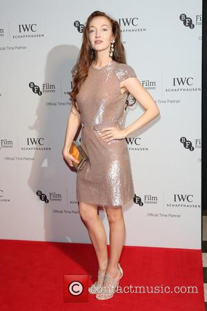 Olivia Grant on the red carpet at the 2016 IWC Gala in honour of The British Film Institute London, United...