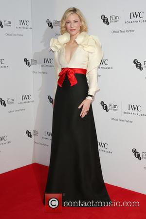 Cate Blanchett on the red carpet at the 2016 IWC Gala in honour of The British Film Institute London, United...