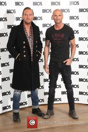 Matt Goss , Luke Goss - BROS Reunion and Tour announcement held at the Ham Yard Hotel - Arrivals -...