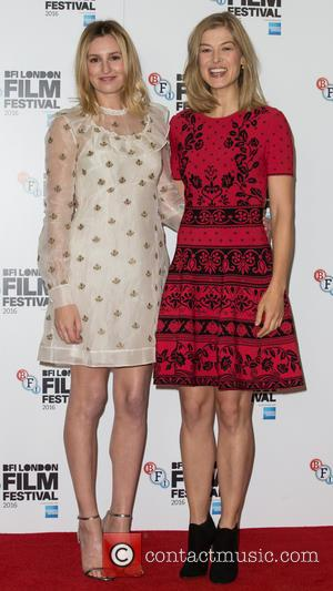 Laura Carmichael and Rosamund Pike
