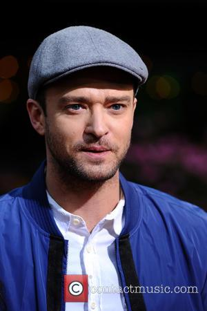 Justin Timberlake at Macy's Celebration of