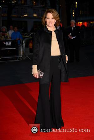 Sigourney Weaver and Bfi London Film Festival at Odeon Leicester Square