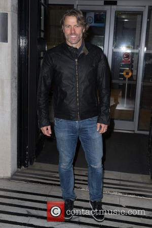 John Bishop seen outside the Radio 2 Studios at BBC Western House, London, United Kingdom - Friday 7th October 2016