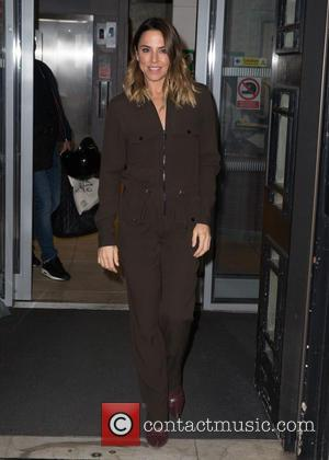 Melanie C seen outside the Radio 2 Studios at BBC Western House, London, United Kingdom - Friday 7th October 2016