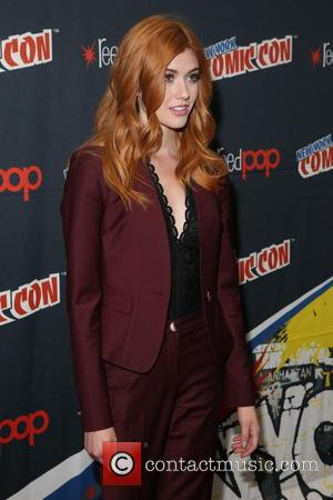 Katherine McNamara at the New York Comic Con photocall for 'Shadowhunters' - New York, United States - Saturday 8th October...