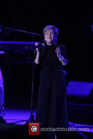 Bette Midler and Nile Rodgers perform live at the Freak Out Let's Dance NY 2016 concert held at the Forest...