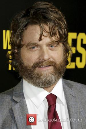 Zach Galifianakis at the Los Angeles premiere of 'Keeping With The Joneses' - Los Angeles, California, United States - Saturday...