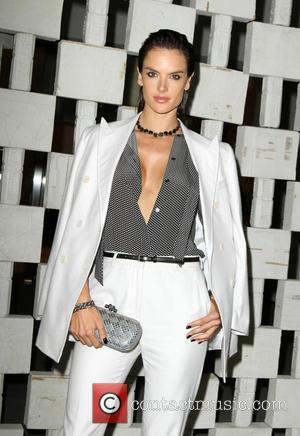 Alessandra Ambrosio at The Hammer Museum's Annual Gala in the Garden held at Hammer Museum, Los Angeles, California, United States...