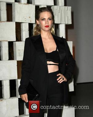 January Jones at The Hammer Museum's Annual Gala in the Garden held at Hammer Museum, Los Angeles, California, United States...