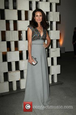Andie MacDowell at The Hammer Museum's Annual Gala in the Garden held at Hammer Museum, Los Angeles, California, United States...