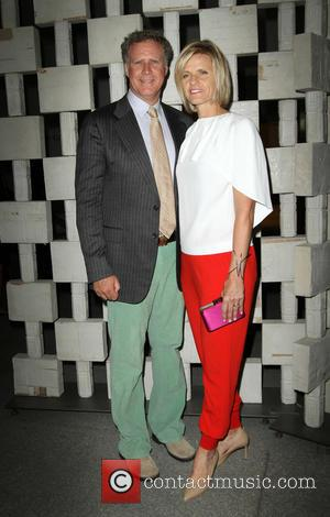 Will Ferrell with his wife Viveca Paulin at The Hammer Museum's Annual Gala in the Garden held at Hammer Museum,...