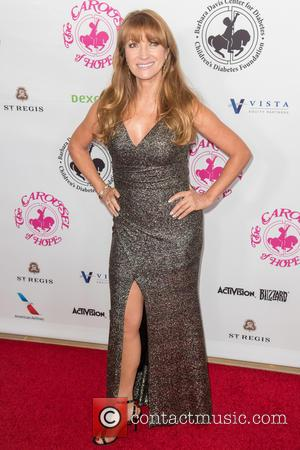 Jane Seymour seen on the red carpet entering the 2016 Carousel of Hope Ball, held at the Beverly Hilton Hotel...