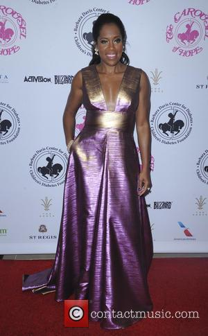 Regina King seen at the 2016 Carousel of Hope Ball - Los Angeles, California, United States - Sunday 9th October...