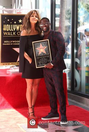 Halle Berry celebrated with Kevin Hart. The comedian has been honored with a star on the Hollywood Walk of Fame....