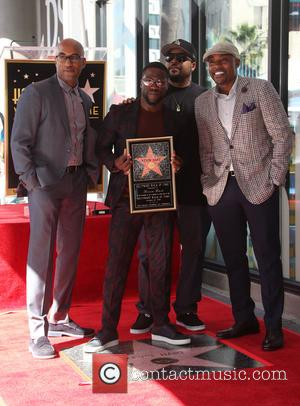Kevin Hart, Ice Cube, Will Packer and Tim Story