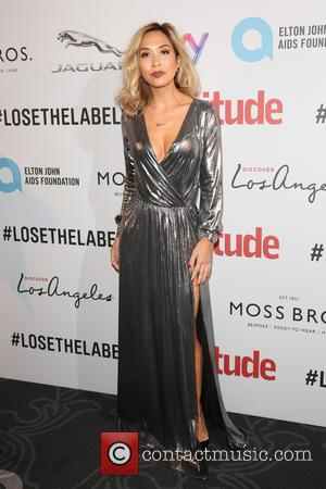 Myleene Klass on the red carpet at the 2016 Attitude Awards, London, United Kingdom - Monday 10th October 2016
