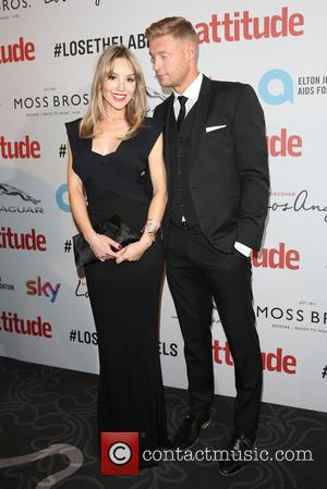 Andrew Flintoff and Rachael Wools Flintoff on the red carpet at the 2016 Attitude Awards, London, United Kingdom - Monday...