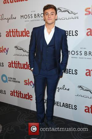 Tom Daley on the red carpet at the 2016 Attitude Awards, London, United Kingdom - Monday 10th October 2016