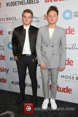 Conor Maynard on the red carpet at the 2016 Attitude Awards, London, United Kingdom - Monday 10th October 2016