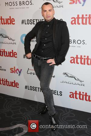 Louie Spence on the red carpet at the 2016 Attitude Awards, London, United Kingdom - Monday 10th October 2016