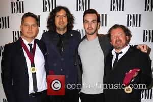 Members of Snow Patrol at the 2016 BMI London Awards held at Dorchester Hotel, Park Lane, London, United Kingdom -...