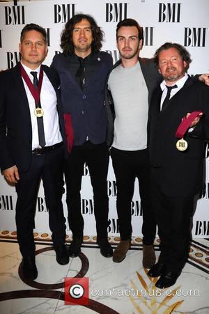 Snow Patrol, Paul Wilson, Jonny Quinn and Gary Lightbody