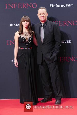 Felicity Jones and Tom Hanks