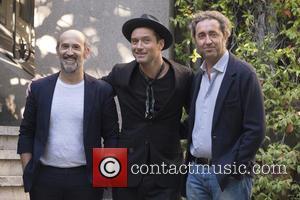 Paolo Sorrentino, Jude Law and Javier Camara