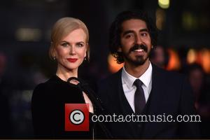 Nicole Kidman seen alone and with co-star Dev Patel at the BFI London Film Festival American Express Gala screening of...