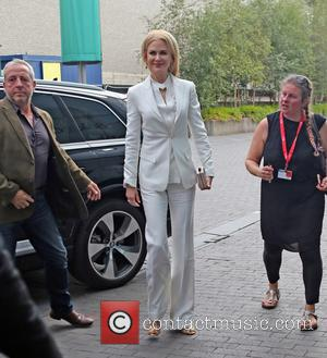 Nicole Kidman arrives at the BFI film festival. Nicole is promoting her new film Lion in which she appears alongside...