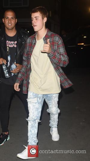 Justin Bieber seen leaving Beach Blanket Babalon restaurant in London after dinning out with friends. Justin was seen leaving the...