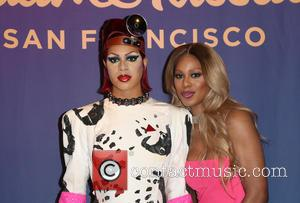 Laverne Cox reveals her wax double restyled as Dr. Frank-N-Furter from 'The Rocky Horror Picture Show' at Madame Tussauds Hollywood,...