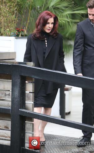 Priscilla Presley outside ITV Studios, London, United Kingdom - Thursday 13th October 2016
