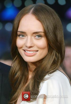 Laura Haddock at the BFI London Film Festival premiere of 'Their Finest' - London, United Kingdom - Thursday 13th October...