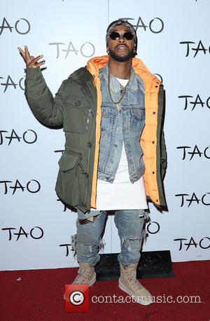 Omarion on the Red Carpet Before a Special Performance at TAO Nightclub Inside The Venetian, Las Vegas, Nevada, United States...
