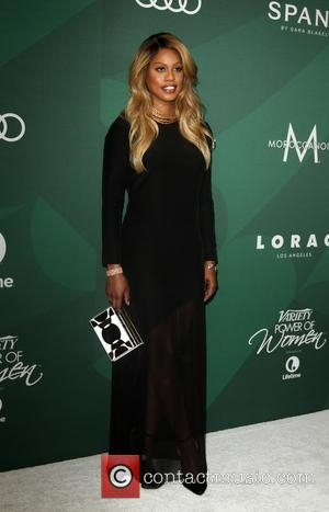 Laverne Cox at Variety's Annual Power of Women Luncheon held at the Beverly Wilshire Hotel in Beverly Hills, Los Angeles,...