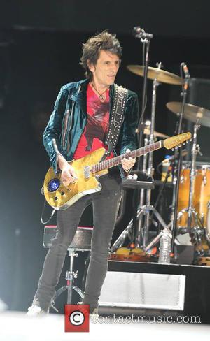 Ronnie Wood and The Rolling Stones