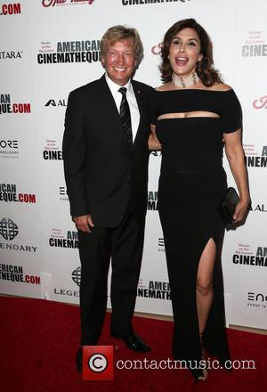 Nigel Lythgoe seen arriving at the 30th Annual American Cinematheque Awards Gala held at The Beverly Hilton Hotel, Beverly Hills,...